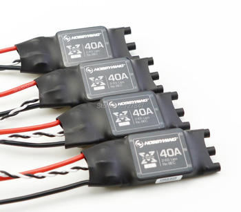 Original High Performance XRotor 40A ESC Asia-pacific Version for Hobbywing F550 650 680 Quadcopter 4 Pcs