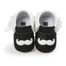 brand new pu leather baby moccasins hot moccs Soft Bottom Non-slip Fashion Tassels girls boys shoes for baby age 0~18month