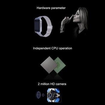 Reloj inteligente deportivo con Bluetooth, podómetro, recordatorio de vida sedentaria, Monitor de sueño, cámara remota, pulsera inteligente de alta calidad para mujer y hombre