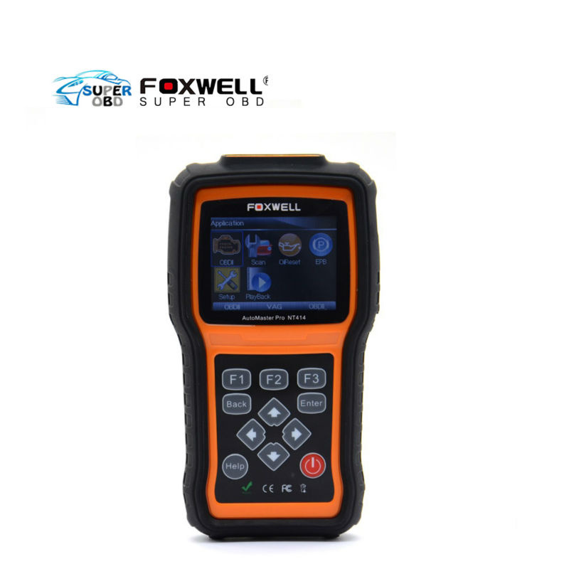 Foxwell NT414 All Brand Vehicle Four Systems diagnose, like ECU, ABS, Airbag and Transmission Diagnostic Tool