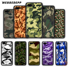 WEBBEDEPP Camouflage Pattern Camo Army Soft Case for Honor 20 10 9 9X 8 Lite 8C 8X 7X 7C 7A 3GB 6A Pro View 20(China)