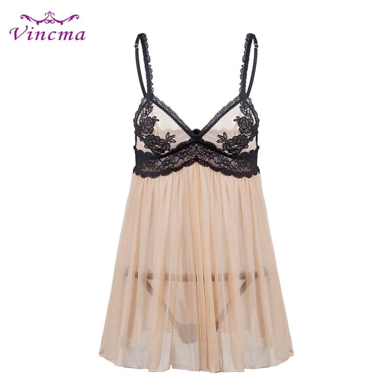 S M L XL XXL 3XL 4XL 5XL 6XL Skin Transparent Dress Women Plus Size Hot Erotic Sexy Lingerie Black Embroidery Sleepwear Nuisette женское платье brand new 2015 vestidos 5xl s m l xl xxl xxxl 4xl 5xl