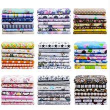 7 Uds 25x2 5 cm/pack impreso acolchado de tejido de algodón material para costura de tela para bolso de bricolaje patchwork tela T7866-1