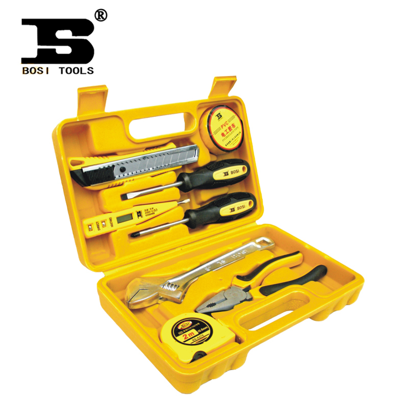 [National free shipping] Persian tool 8 sets of household tool combination suit with a screwdriver Toolbox BS-J008  цены