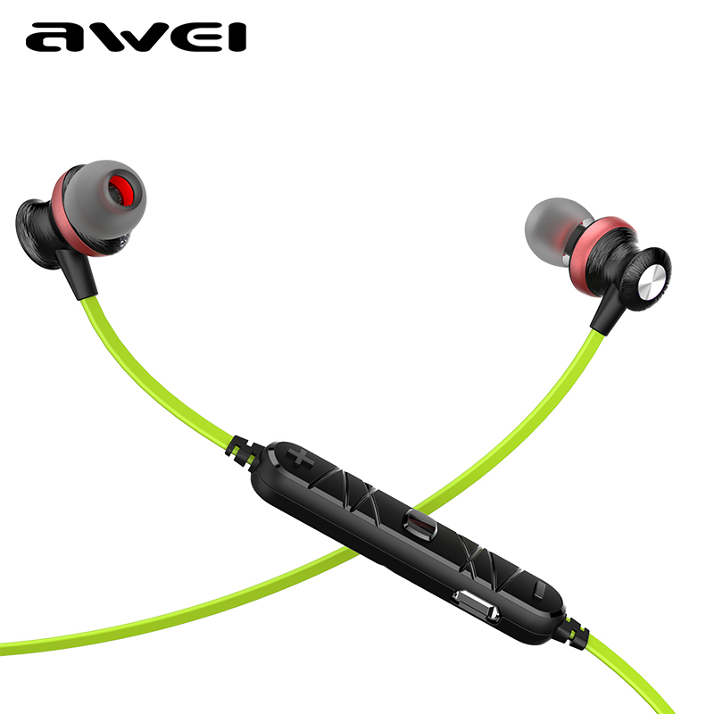 Awei A980BL Wireless Bluetooth Earphones Sports Headset Handsfree Headphone with Mic for Mobile phone fone de ouvido Auriculares lymoc m3 bluetooth headphone stereo music earphone wireless sport headset handsfree earbuds fone de ouvido auriculares with mic