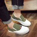 2017 New Fashion Students Leisure Loafers Women's Flat Shoes Slip-on Women's Shoes Corduroy Women Casual Shoes
