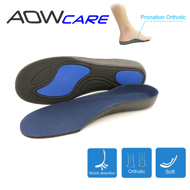 AOWCARE ANNIVERSARY SALE Arch Support Insoles Orthotic Shock - Sko tilbehør