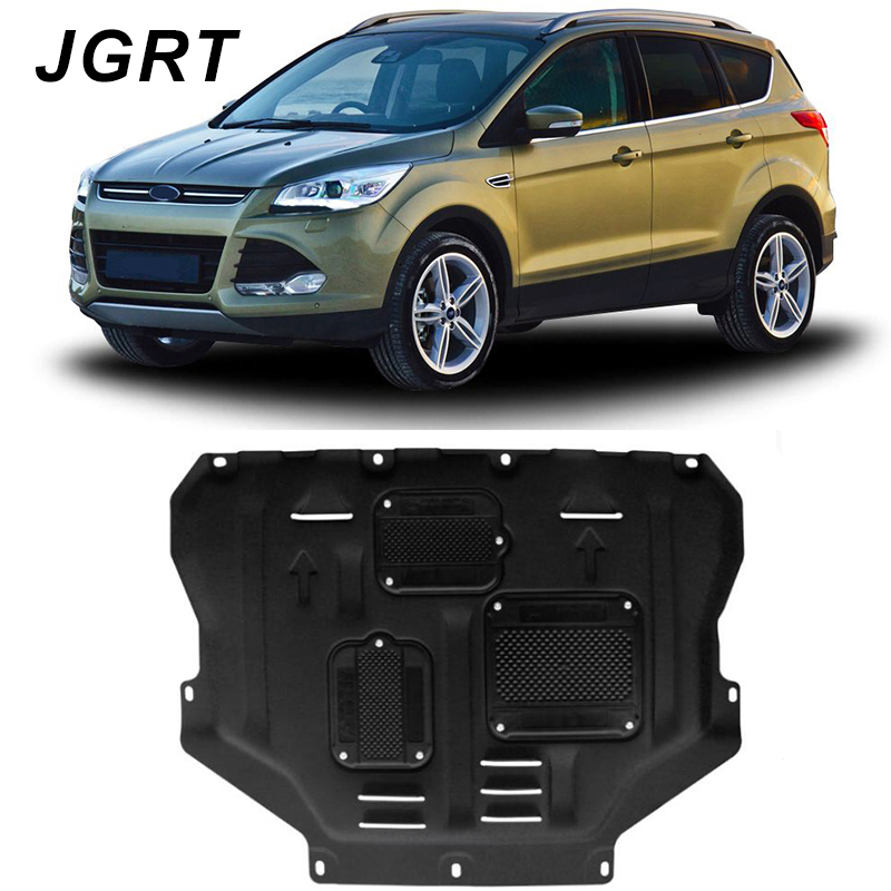 Car styling For Ford Escape plastic steel engine guard For Escape 2013 2018 Engine skid plate