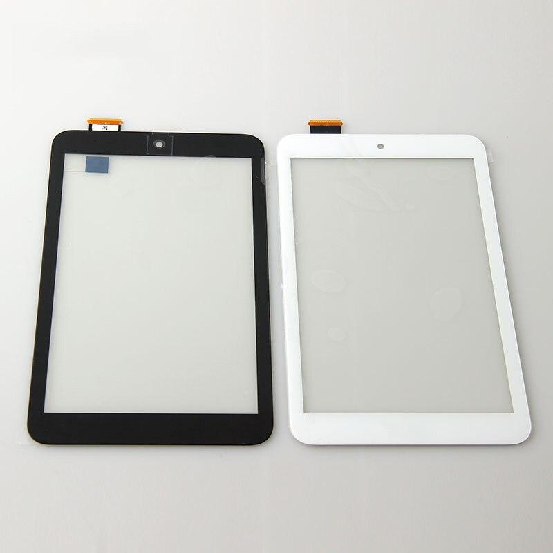 Новые 8 спереди Сенсорный экран панели стекло Сенсор планшета Запасные части для Asus Memo Pad 8 me180 ME180A k00l Черный и белый цвета