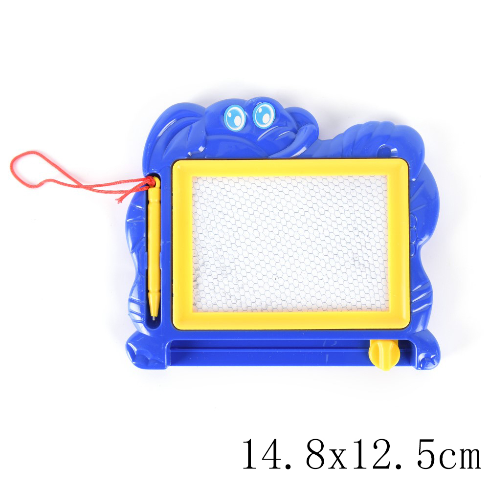 Office & School Supplies 1pcs Children Writing Doodle Stencil Painting Magnetic Drawing Board Set For Kids Learning & Education Toys Hobbies Clipboard