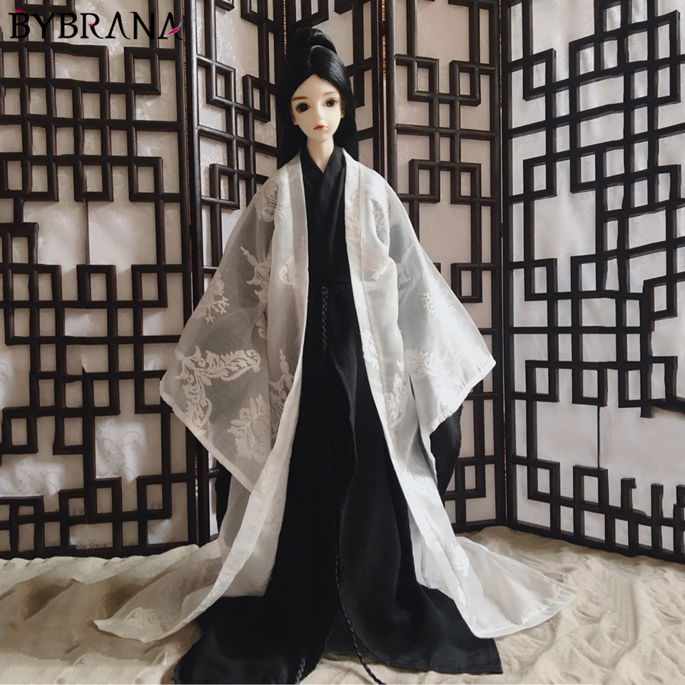 Bybrana 1 3 1 4 BJD Chinese style doll clothes