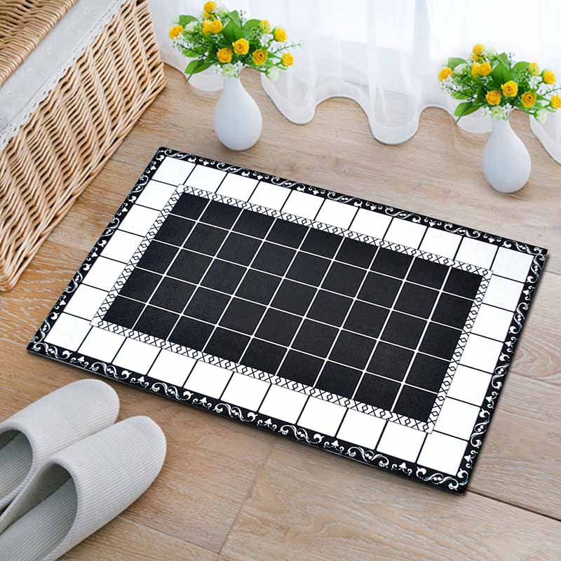 Washable Kitchen Mats with Anti Slip Bottom for Kitchen and Hallway Entrance Floor 11