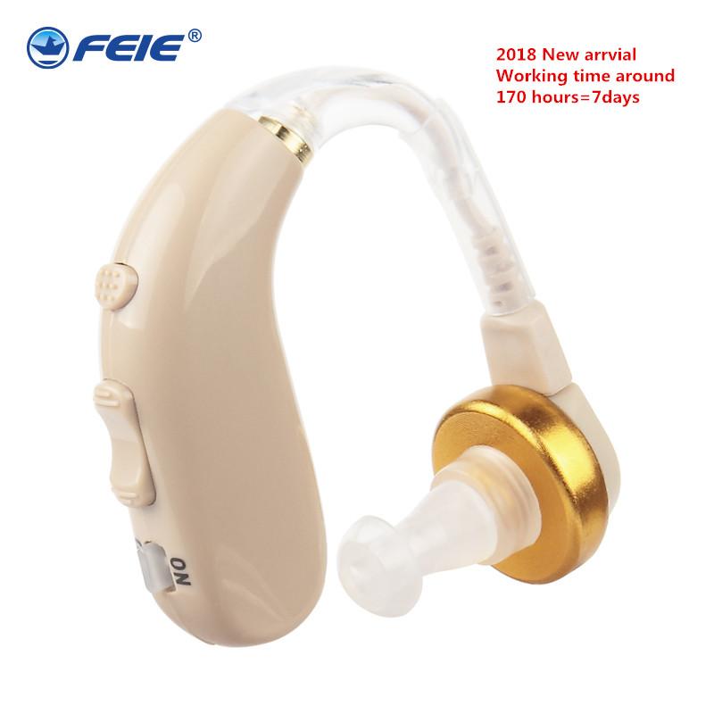 Invisible Hearing Aid Rechargeable Behind Ear Sound Enhancement Deaf Equipment Earphone for Old People Hearing Loss S-130 russia hearing aids invisible headphone analog hearing aid ear tips deaf sound enhancement s 188 free shipping hot sell