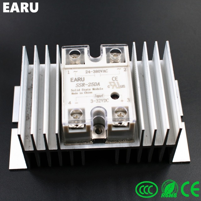 1 pc SSR 25DA Solid State Relay Module SSR 25 DA 25A Hot Sale