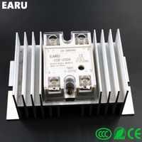 1 pc SSR-25DA Solid State Relay Module SSR-25 DA 25A Hot Sale Quality + 1 pc M / W type Heatsink Aluminum Radiator Combination