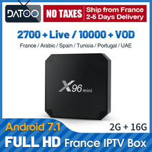 IPTV French Arabic X96 Mini France IP TV Qatar Belgium UAE Subscription Algeria Tunisia Spain Portugal Full HD