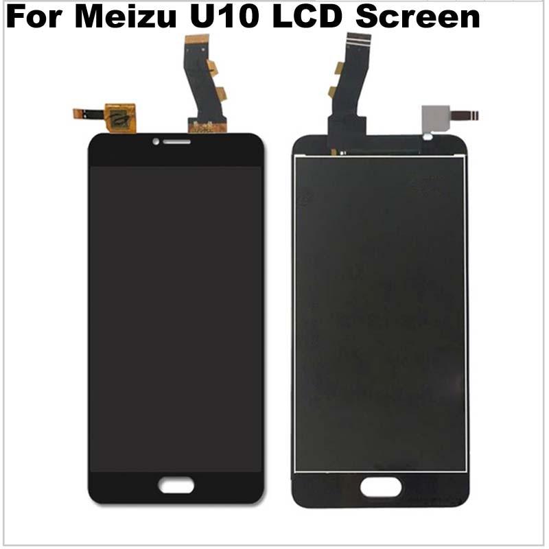 imágenes para Para Meizu U10 Nuevo Accesorios de Reemplazo LCD + Pantalla Táctil Digitalizador de Alta Calidad Para 5.0 pulgadas Meilan U10 Pro primer
