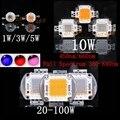 High Power LED Chip Full Spectrum Grow Light Lamp Epistar COB Emitter 440nm 660nm 1W 3W 5W 10W 20W 30W 50W 100W for Plant Growth