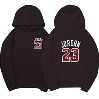 New Hip Hop Man Print Jordan 23 Pullover Brand Man Swag 100 Cotton Hoodies And Sweatshirts