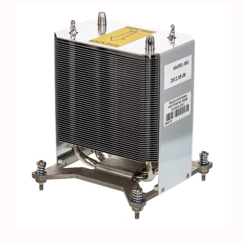 Server cooler ML150 G6 CPU Heatsink 509505 001 466501 001 CPU Processor heat sink for 509547