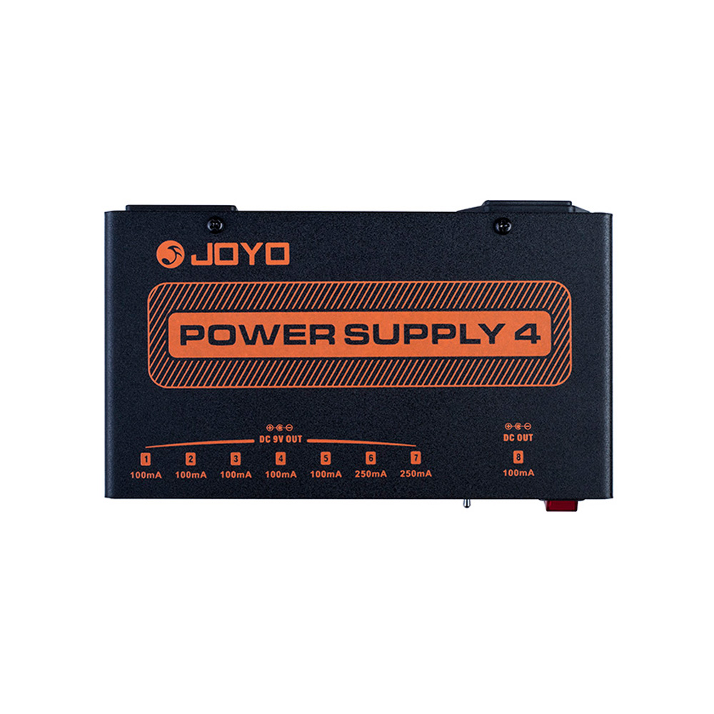 JOYO JP-04 Guitar Effect Pedal Power Supply 8 Independent 9V 12V 18V Output Power Adapter Guitar Accessories free shipping