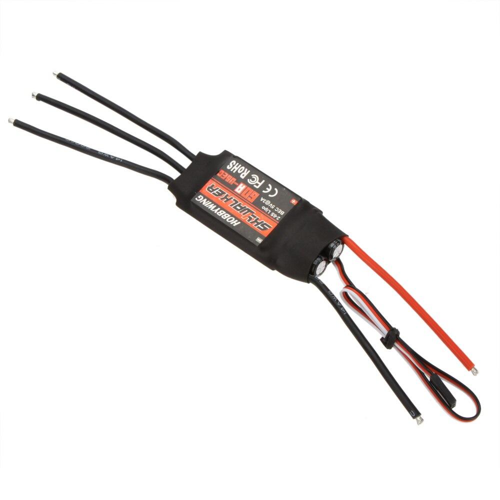 RC Esc para hobbywing Skywalker 60a sin escobillas controlador de velocidad ESC con ubec alta calidad Control remoto RC drone Juguetes parte