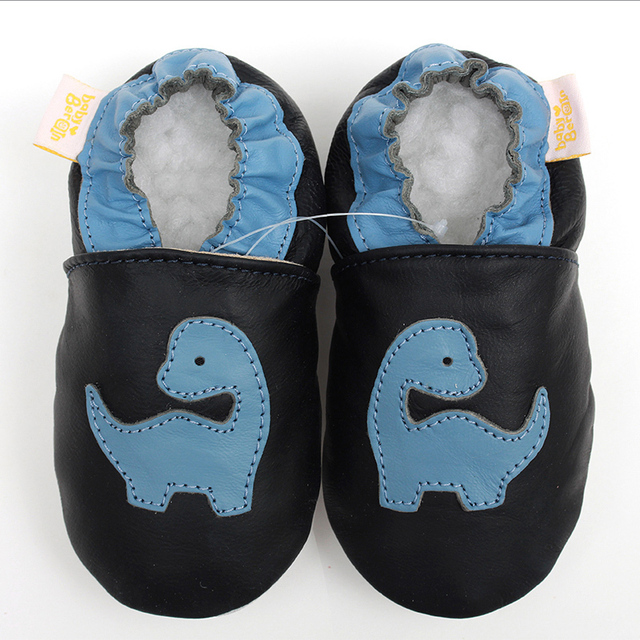 Genuine Leather Baby Shoes Boys Slipper Baby Moccasins Animal Baby Kids Shoes Girls Infant Shoe Soft First Walkers Non-slip