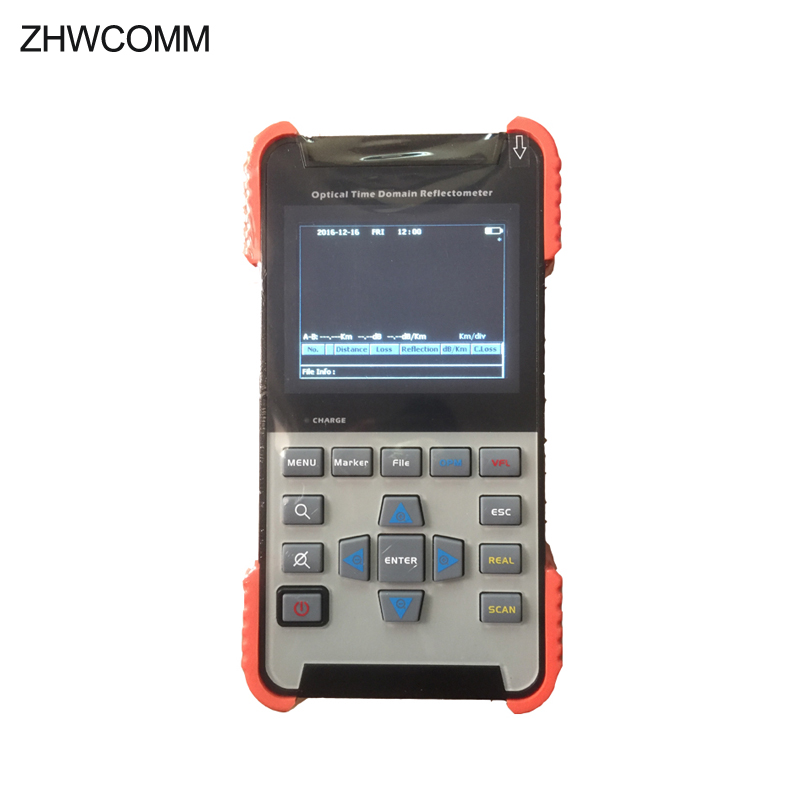 Handheld 60km mini OTDR AOR-500S Optical Time Domain Reflectormete 1310/1550nm FTTH FIber Optical Test tester