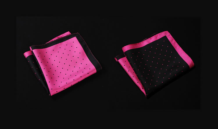 NE16 HN14K1 Hot Pink Black Polka Dot (4)