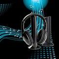 2016 Venda Quente 5 em 1 Relógio Tv Fones de Ouvido Sem Fio Fone de Ouvido Estéreo de fone de Ouvido Sem Fio para MP3 PC TV FM iPod