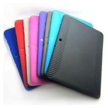 Soft tpu silicone rubber case cubierta protectora de la piel para samsung galaxy tab 2 10.1 pulgadas p5100 p5110 p7500 p7510 de la tableta M3D088d