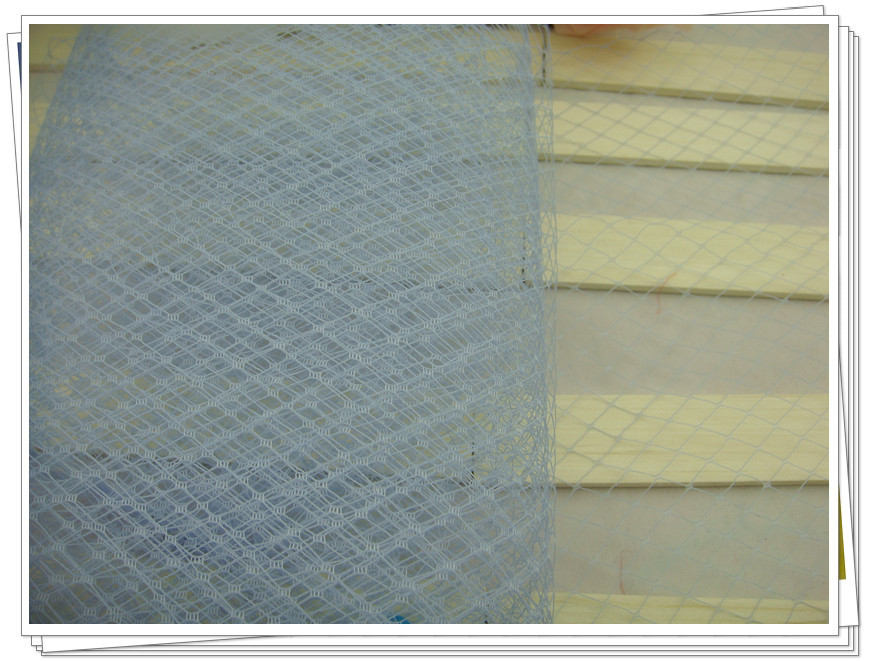 Free shipping 10/25 cm light blue birdcage veils, for fascinators/bridal hair accessories /Millinery hats / 10yards/lot