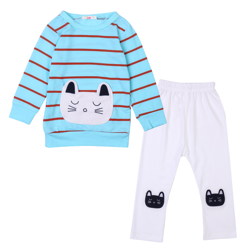 LZH Children Clothing 2018 Spring Baby Girls Clothes Set T-shirt+Pants 2pcs Outfits Kids Tracksuits Costume Girls Sports Suit