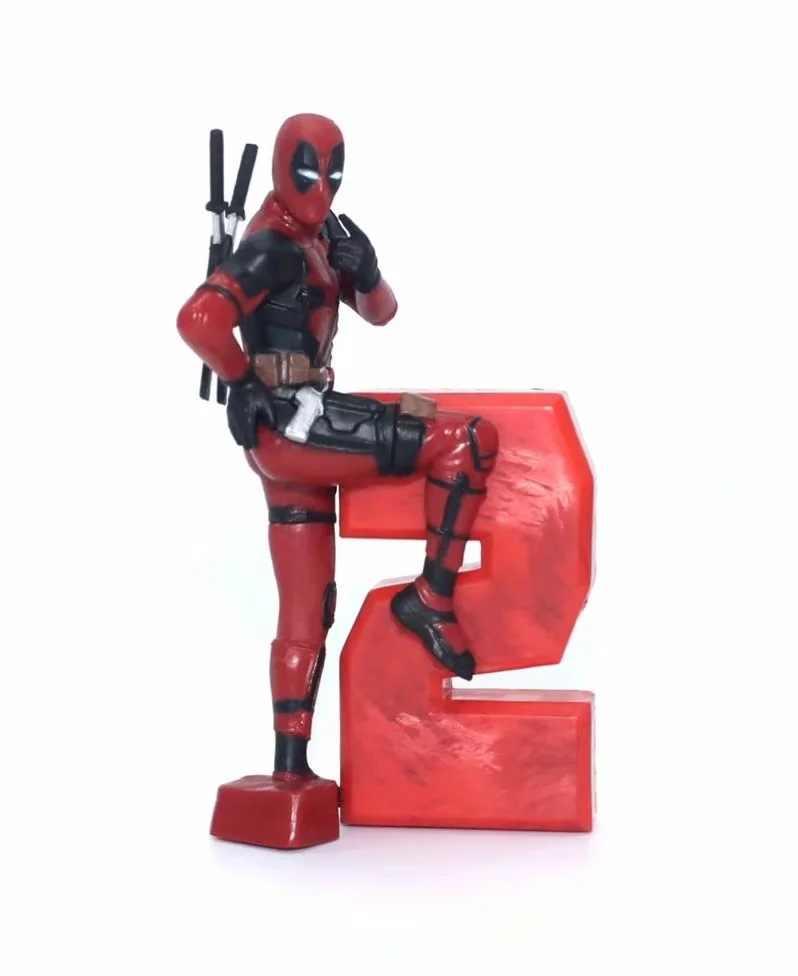 Filme 5-10 cm 5 Estilos 2 Deadpool Engraçado Modelagem Figuras PVC Brinquedos Do Carro Modelo de Decoração Para Casa Bonecas Colecionáveis