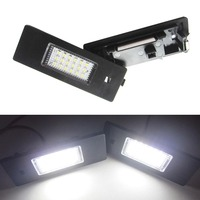 Free Shipping 2X Led For E87 LCI LED License Plate Lights For BMW