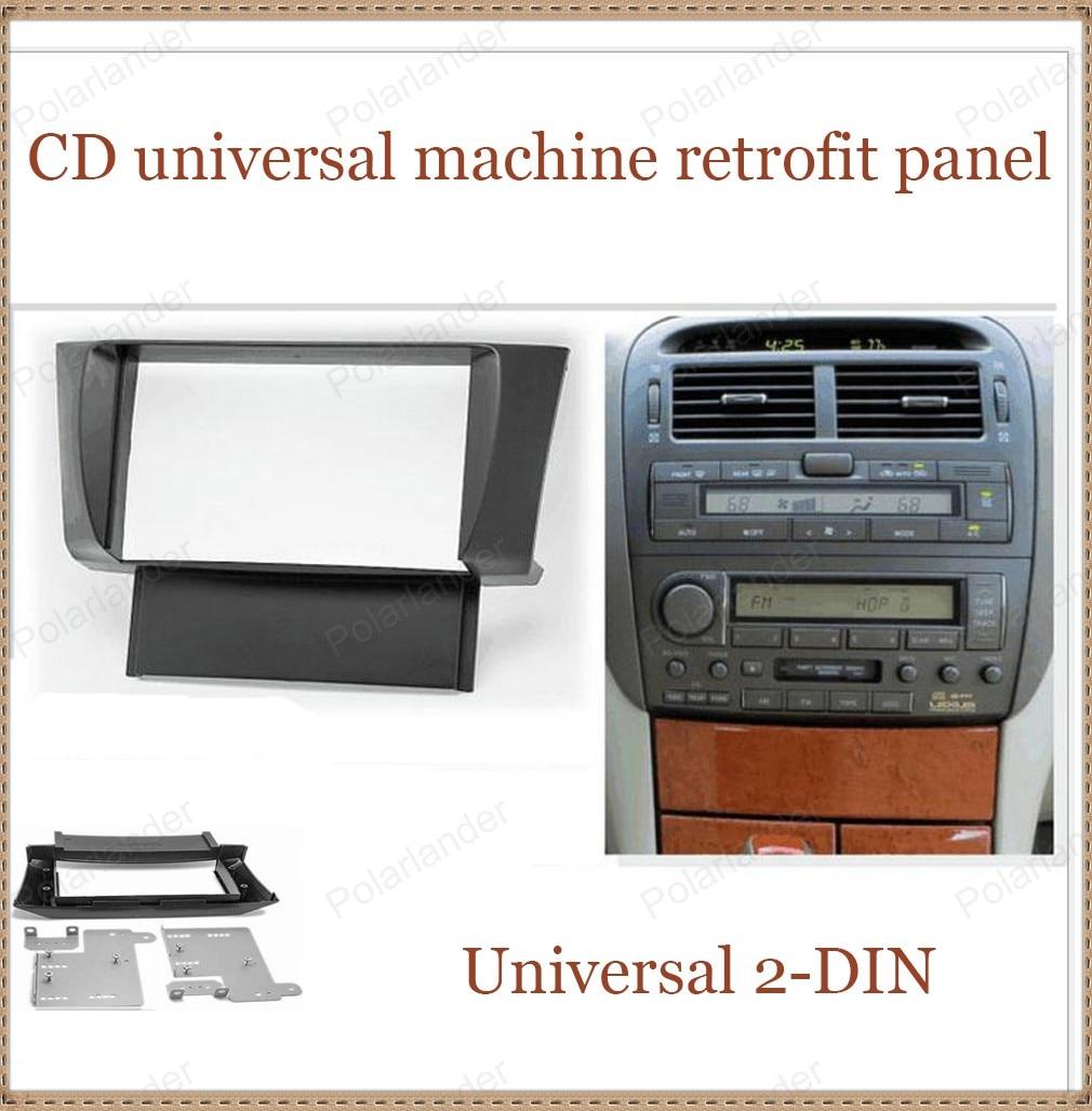 278c5f9177c8 Per LE-XUS LS-430 UCF-30 2001-2006 per TO-YOTA Ce-lsior UFC30 2001-2006-DIN  CD macchina universale retrofit panel spedizione gratuita