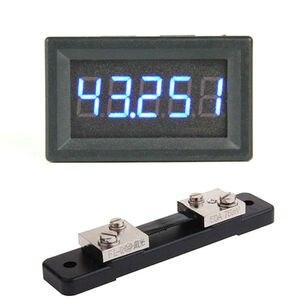 Image 3 - Amperímetro digital DC 0 50.000A 5Bit + shunt +  50A alta precisión amperio medidor de detección de corriente medidor de descarga de carga