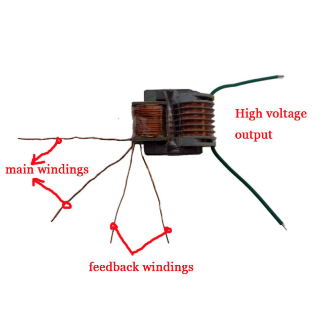 high frequency transformer high voltage transformer high voltage generator  transformer high frequency transformer power 3w