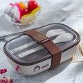 ONEUP  коробка для завтрака с натуральными злаками для детей  BPA Free  Bento  коробка с столовыми приборами  контейнер для еды  детский школьный Пикн...