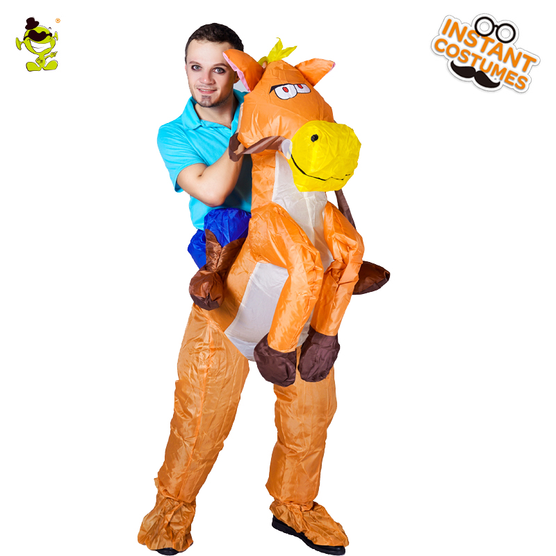 Hot Sale Men's  Inflatable Lyjenny Costume Cosplay Halloween Party Inflatable Clothes Funny Lyjenny Costumes For Adult Man
