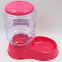 Food Dish Bowl Feeder Pet Dog Cat Automatic Water Dispenser Drinking Water Puppy Food Feed