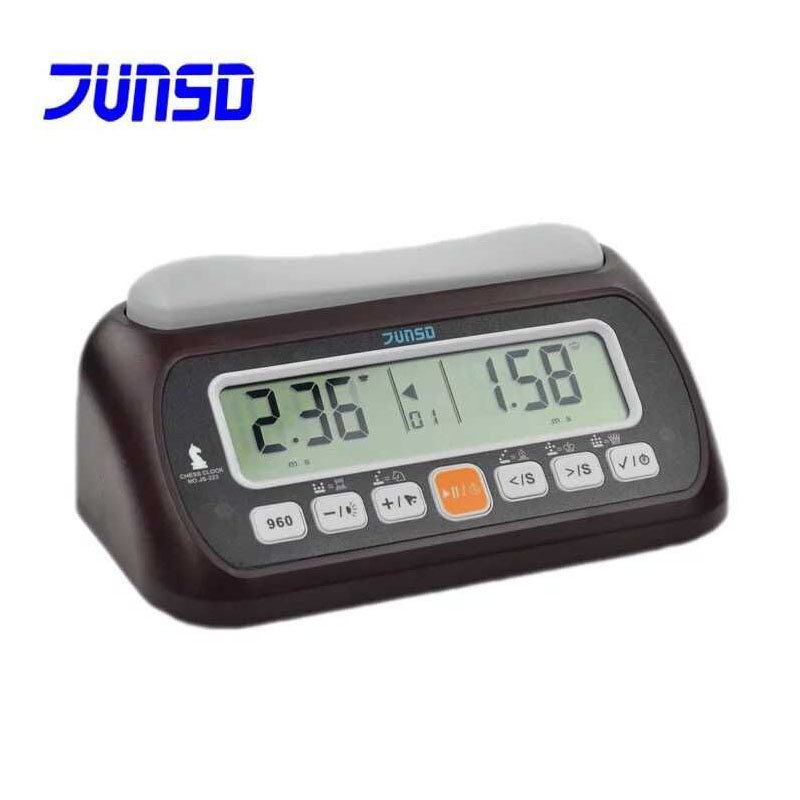 JUNSD Chess Clock Digital touch button Professional chess game timer Count down Sports Competition Bonus chess clocks Wholesale chess and mathematical thinking