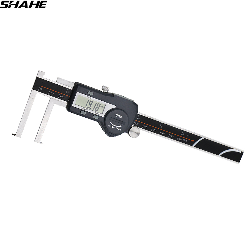 shahe 8 150 mm electronic caliper inside groove digital caliper with font b knife b font