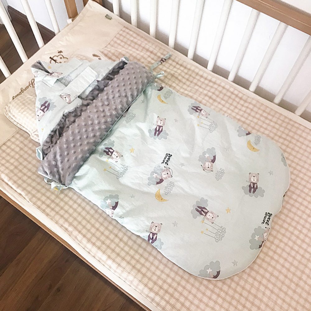 Baby Sleeping Bag Envelope Swaddle Sack For Newborn Baby Cocoon Outer Horse Pattern Diaper Cocoon For