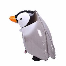 Cute Walking  Penguin Modeling Inflatable Air Balloons Penguin Foil Balloon  Kids Toy Gifts Birthday Wedding Party Decor Balloon