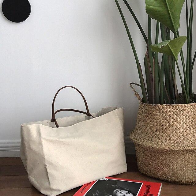 Большая сумка jumbo холст сумки пляжная сумка на ремне летние белые повседневные сумки 2017 Модные Бежевые белого цвета