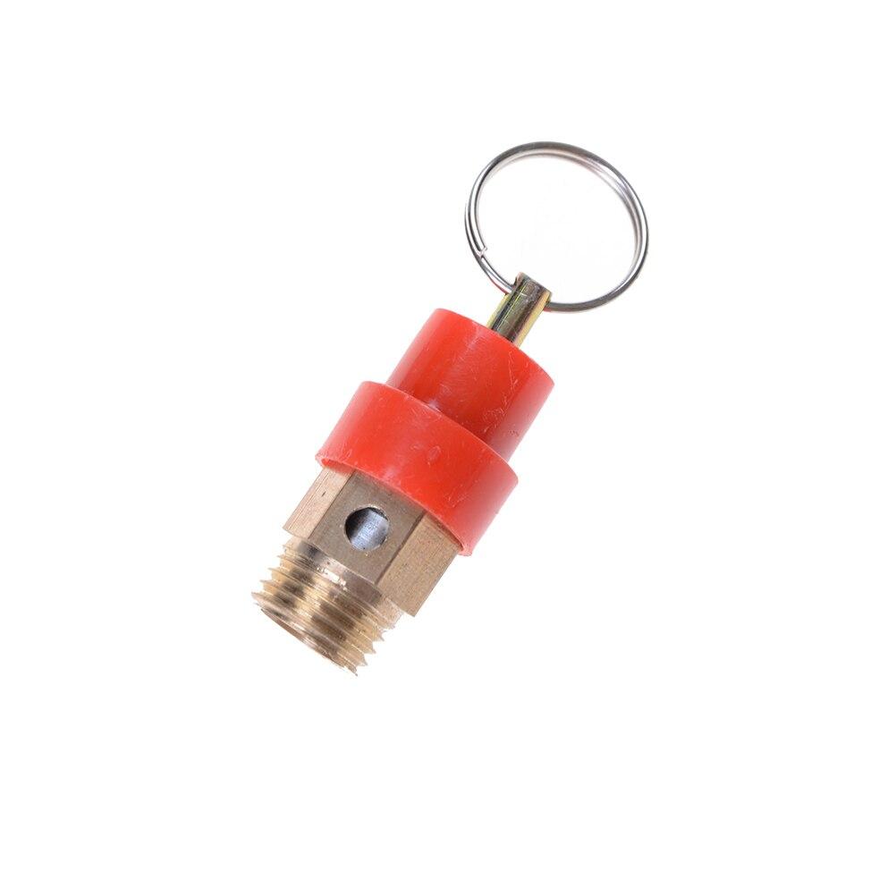 """1 Stück Messing 8 Kg Bsp Luft Kompressor Sicherheit Release Ventil Druck Relief Regler Durchmesser 9mm Mit Eine 1/4 """"bsp Gewinde"""