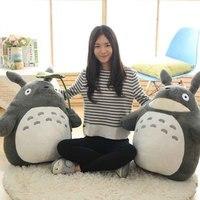 30-55 cm boda lindo prensa muñeca niños cumpleaños niña niños Juguetes Totoro muñeca de gran tamaño almohada Totoro muñeca de juguete