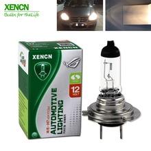 XENCN H7, 12 В, 60 Вт, 3200 к, прозрачный, сверхдолговечный автомобильный головной светильник, галогенная лампа, 30%, более яркий, 75 м луч,, новинка, 2 pos