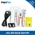 100% Original Joyetech EGo AIO Vape Kit Electronic Cigarette Ego Quick Starter Kit 1500mAh Battery 2ml Tank All-in-One Ecigs Kit